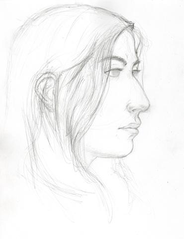 Sketch of Hanna