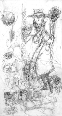Sketch on Mylar