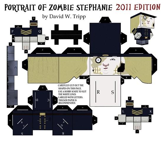Zombie Stephanie 2011
