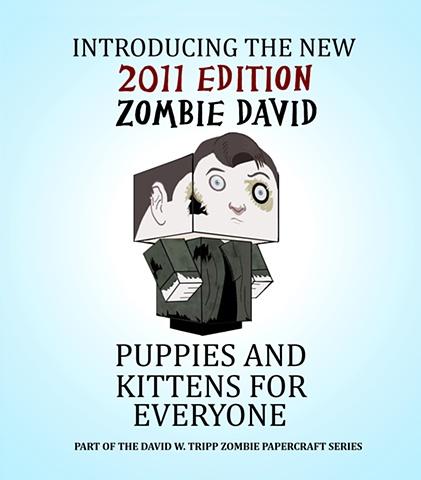 Zombie Selfportrait Poster
