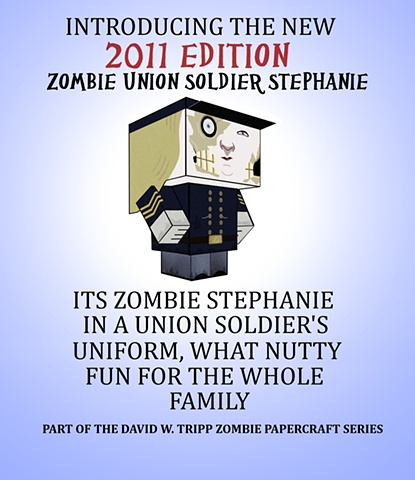 Zombie Stephanie Poster 2011