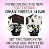 Zombie Alison 2011 Poster