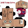 Zombie Head in a box Jay 2016 Trump Edition