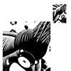 Dreams of the TeddyBear Gatherer (Detail) large mock-up: Shoulder