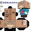 Zombie Head in a box Jay 2016 Hillary edition