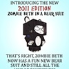 Zombie Beth 2011 Poster