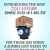 Zombie Head In A Box Jay Poster
