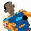 Obamaton Button Design