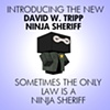 Zombie Ninja Sheriff Poster