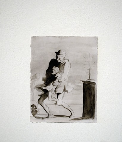 Imitation, Imitation, Imitation (after Daumier)