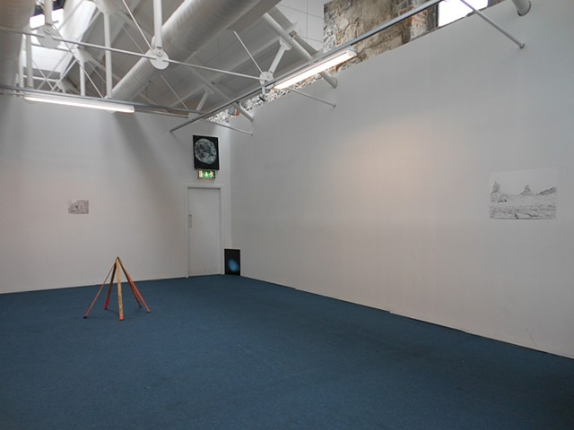 """Common Place"", collaboration with Allen Brewer, EVA International Visual Art Biennial, Istabraq Hall hosted by Occupy Space, Limerick City, Ireland"