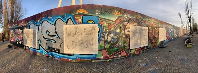 Install In Situ: Mauerpark Berlin, Germany
