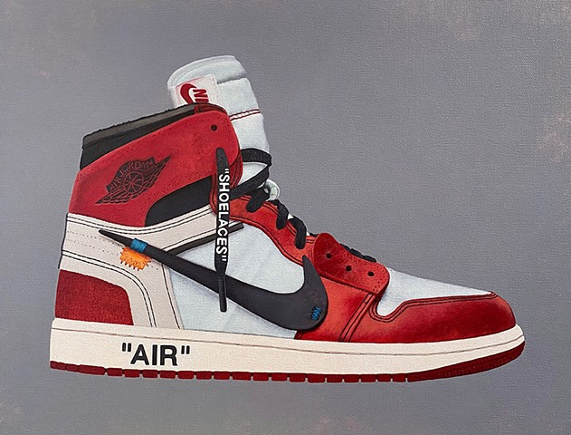 """Off-White x Air Jordan 1 Chicago"