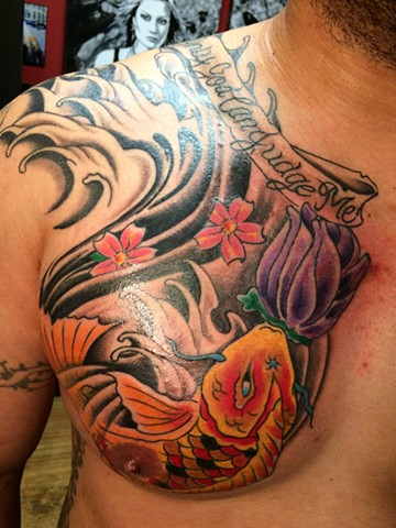 Koi chest done.