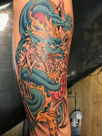 Forearm Dragon