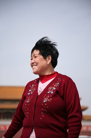 Woman at Tienamen II