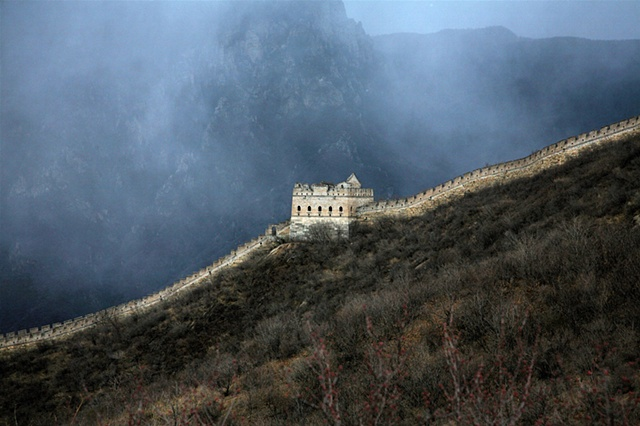Ice Storm on the Great Wall