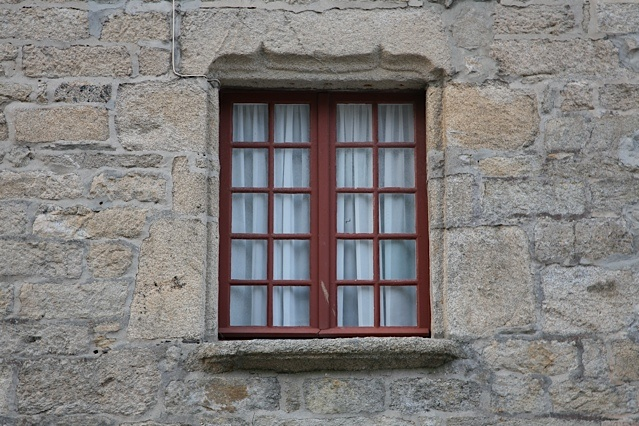 A window in Brittany