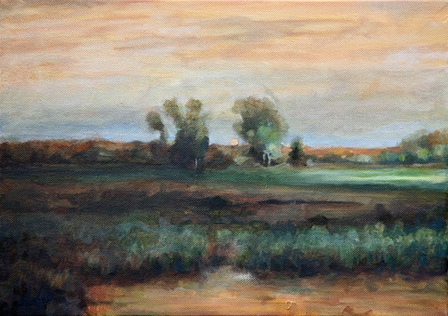 Fields and Haze II (after George Innes)