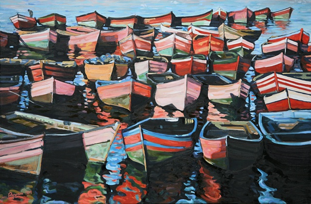 Moroccan Fishing Boats II