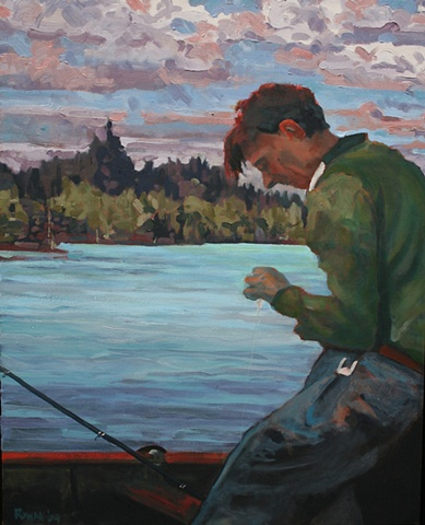 Tom Thompson - Fishing