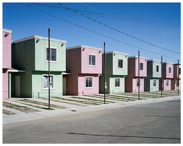 New Development Street, Tecate