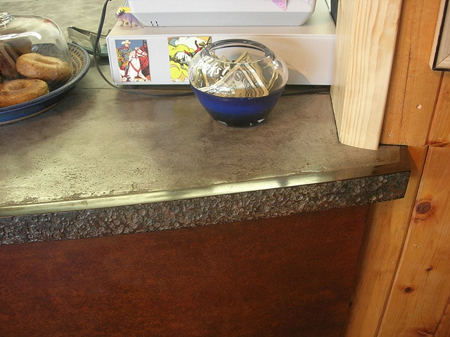 Penland Coffee House Counter - detail