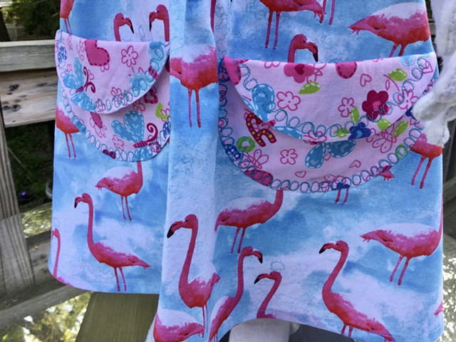 """Janice,"" Flamingoes"