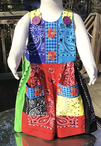 Bandana Dress for Callie
