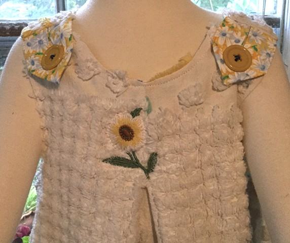 Chenille and Daisies