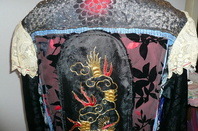 DRAGON - upper back