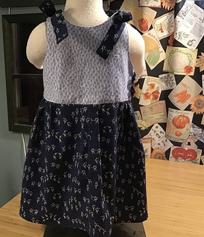 Ballerinas in Blue