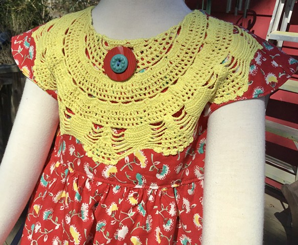 Yellow Crochet
