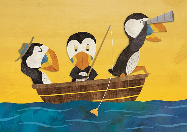 The Seafaring Puffins