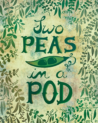 Two Peas in a Pod - Available for Licensing