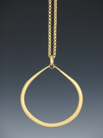 Twisted Rope Pendant