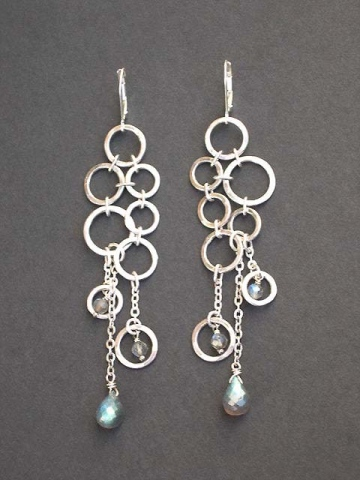 Chain Mail Earring