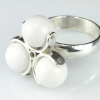 Spinner Ring-White
