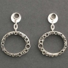 Bubble Oval Earring