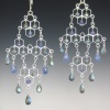 Ultraluxe Hive Chandelier Earrings