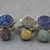 Assorted Druzy Rings..