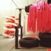 Detail Shot from Installation entitled 'Fluffomatic Generator'