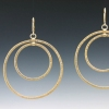 Eclipse Earring with leverback