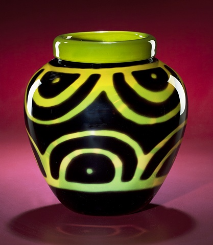 Yellow Artifact Vase