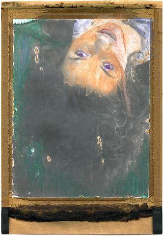 kuleshov effect, polaroid, instant photography, painted, watercolors, expired, film, analog, analogue, dream, by urizen freaza, lev kuleshov, perception, dimensions, layers
