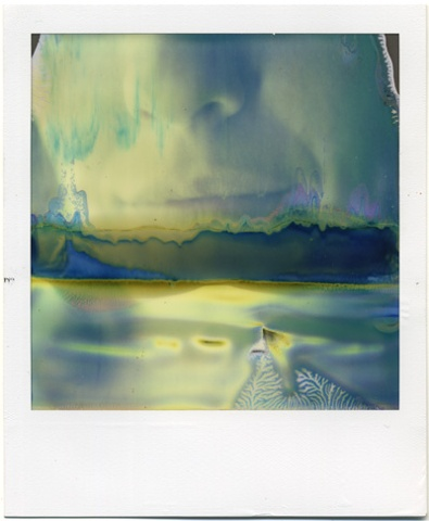 mouth clare portrait urizen freaza polaroid TZ Artistic photography foto instant photo TZA woman half development