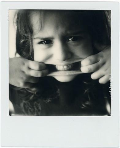 impossible project, film black and white, analog, analogue, portrait, photography, by urizen freaza, faces, niece, child