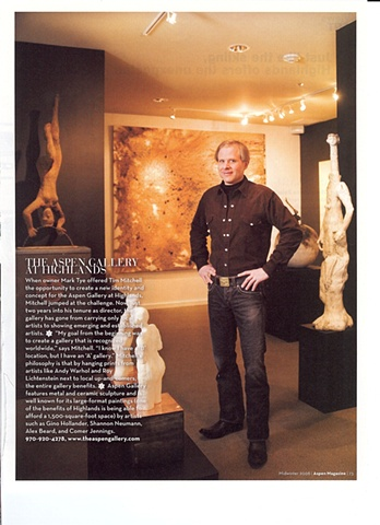 Aspen Magazine  article page 73