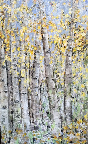 Fall Aspens                   (Sold)