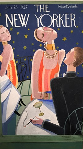 Tribute to The NEW YORKER  The POP Art of Early 20th Century - Art Deco-